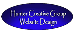 Hunter Creative Group Website Design
