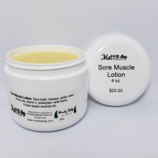 Sore Muscle Lotion - 4 oz.
