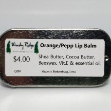 Lip Balm - Orange/ Peppermint